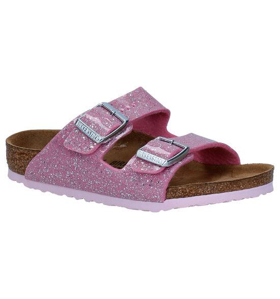 Birkenstock Arizona Roze Slippers
