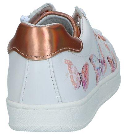 Witte Schoenen met Rits/Veter Kipling Genova, Wit, pdp