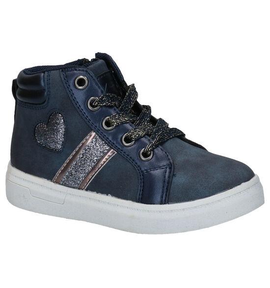 K3 Blauwe Veterschoenen