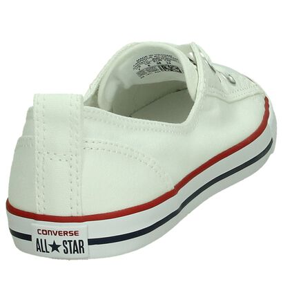Converse CT All Star Ballet Witte Slip-on Sneakers, Wit, pdp