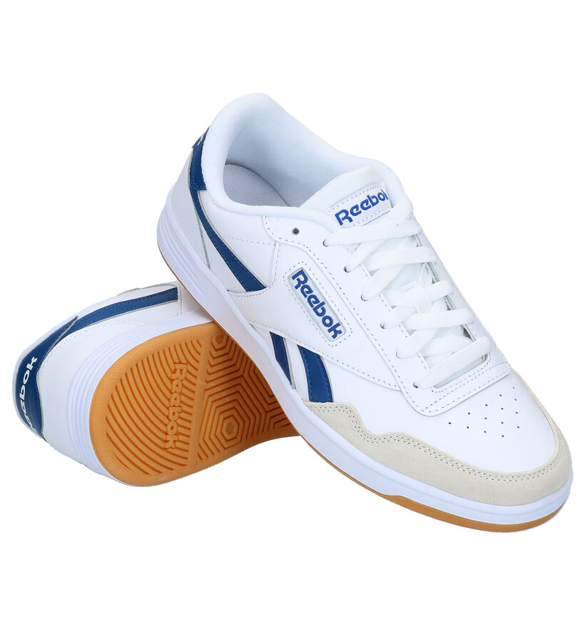 Reebok Royal Techqu Witte Sneakers in kunstleer (276495)