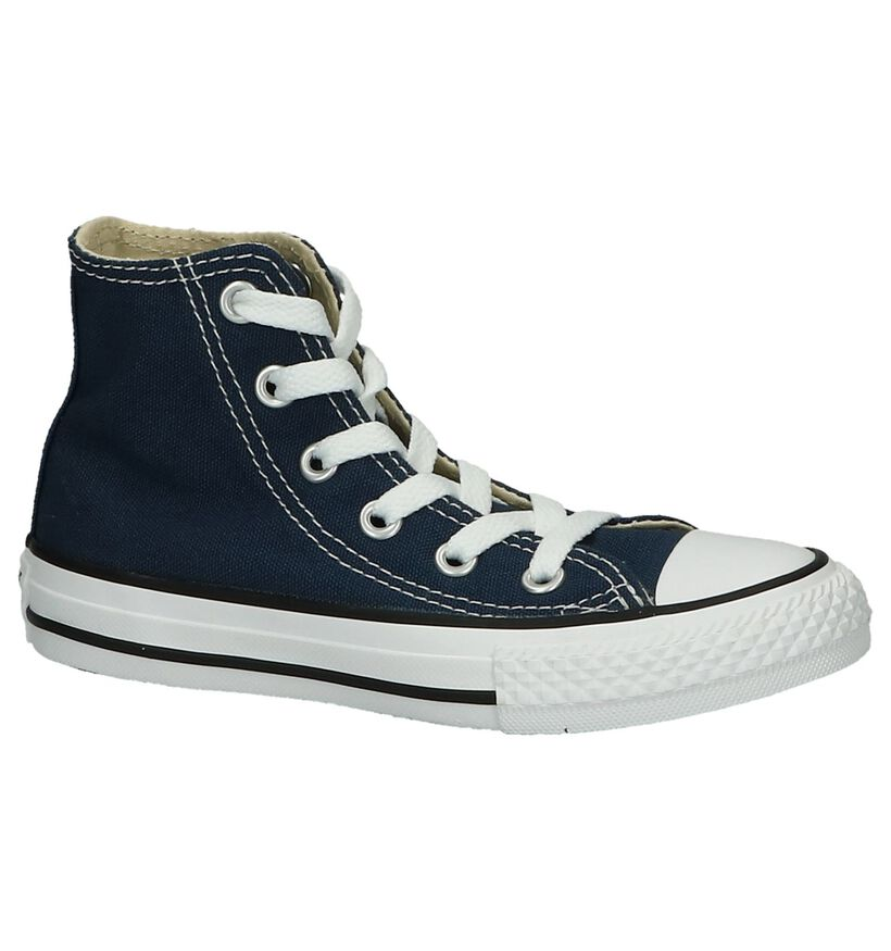 Converse Chuck Taylor All Star High Sneakers Zwart in stof (266010)