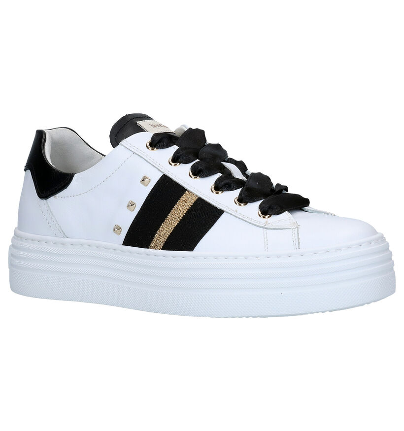 NeroGiardini Witte Sneakers in leer (278987)
