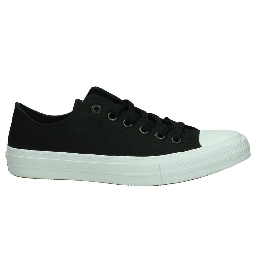Converse All Star II OX Baskets en Noir en textile (178410)