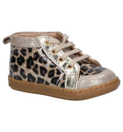 Shoo Pom Bouba Chaussures hautes en Or en cuir (255203)