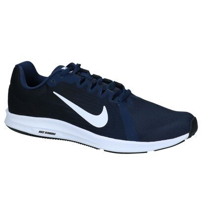 official photos a01d9 aaf3e Donkerblauwe Lage Sportieve Sneakers Nike Downshifter 8   TORFS.BE ...