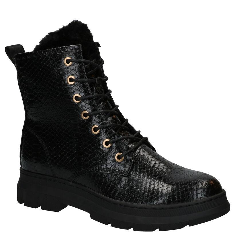 Youh! Zwarte Boots in kunstleer (278735)