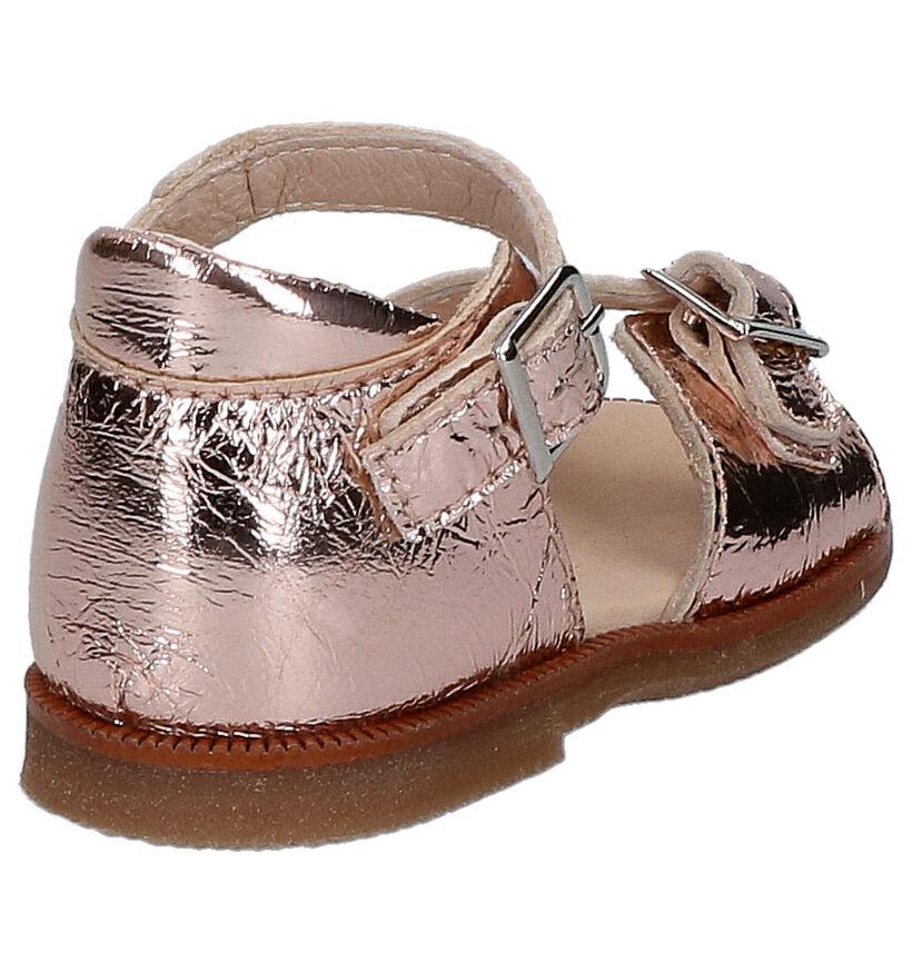 Beberlis Sandales pour bébé en Or rose en cuir (271463)