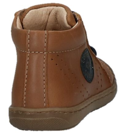 Lunella Chaussures hautes en Cognac en cuir (223022)