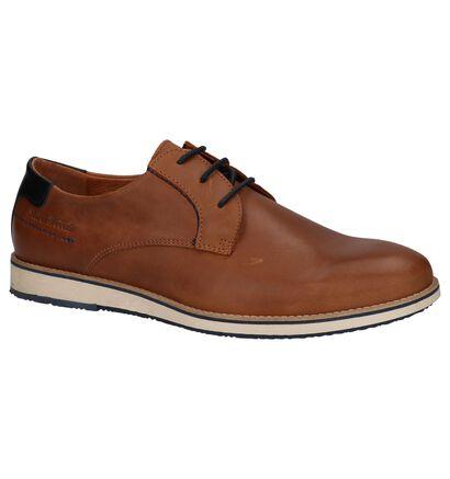 River Woods Chaussures basses en Cognac en cuir (215001)