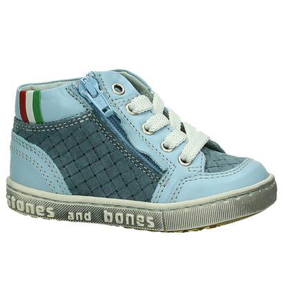 Blauwe Stones and Bones Babyschoenen, Blauw, pdp