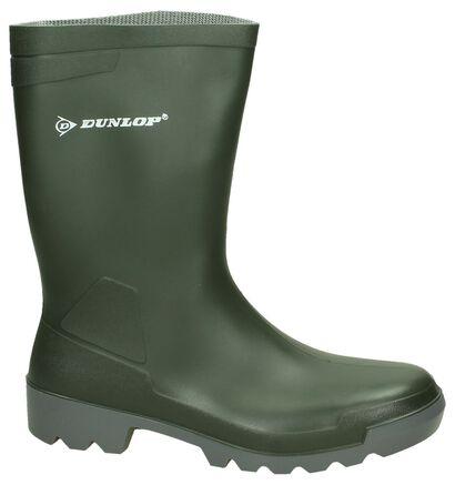 Dunlop Bottes de pluie en Vert en synthétique (126200)