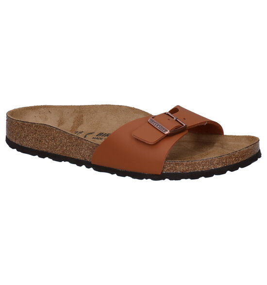 Birkenstock Madrid Cognac Slippers