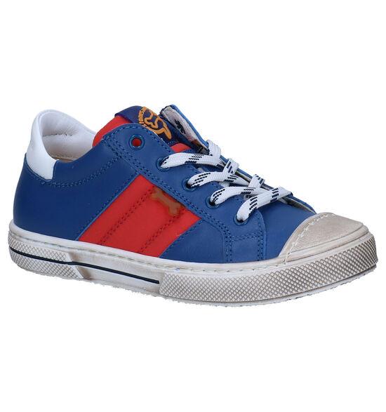 STONES and BONES Masto Chaussures à Lacets en Bleu