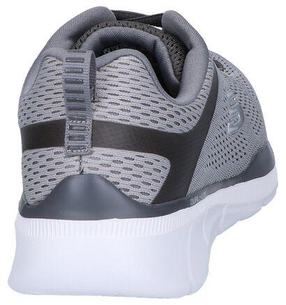 Lichtgrijze Sneakers Skechers Equalizer 3.0 in stof (247407)