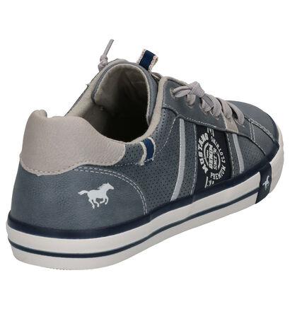 Mustang Chaussures basses en Bleu en simili cuir (266719)