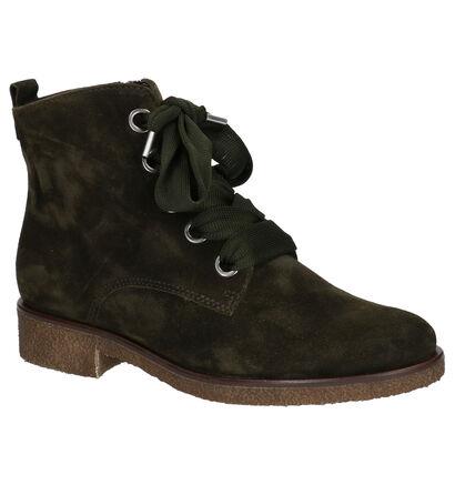 Gabor Comfort Blauwe Boots in daim (260232)