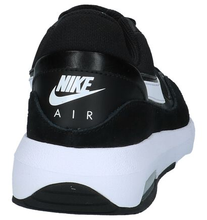 Nike Air Max Baskets basses en Noir en textile (209815)