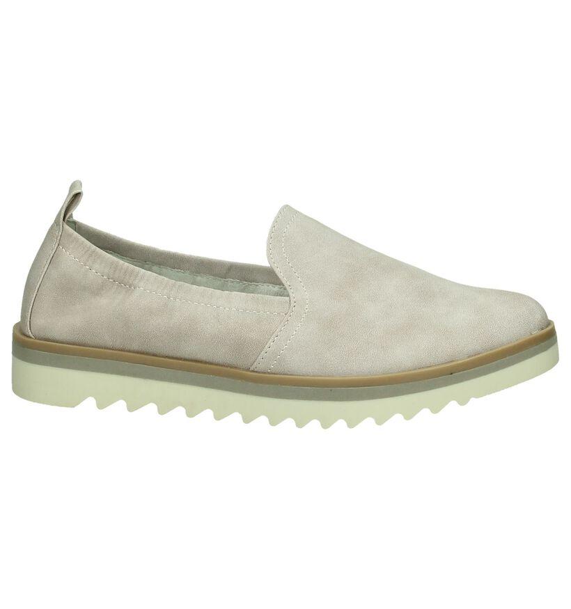 Marco Tozzi Chaussures slip-on en Rose clair en simili cuir (193059)