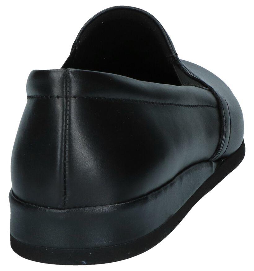 Rohde Pantoufles fermées en Noir en cuir (250737)
