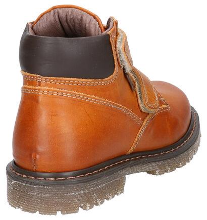 STONES and BONES Boret Cognac Boots in leer (259873)