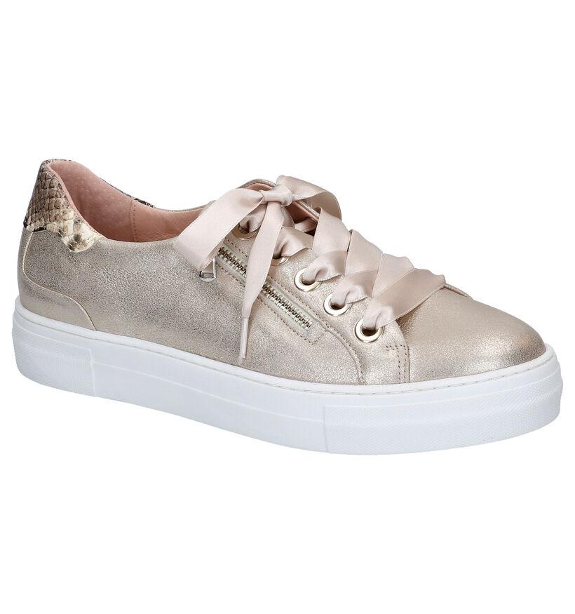 Softwaves Chaussures à lacets en Or en nubuck (275375)