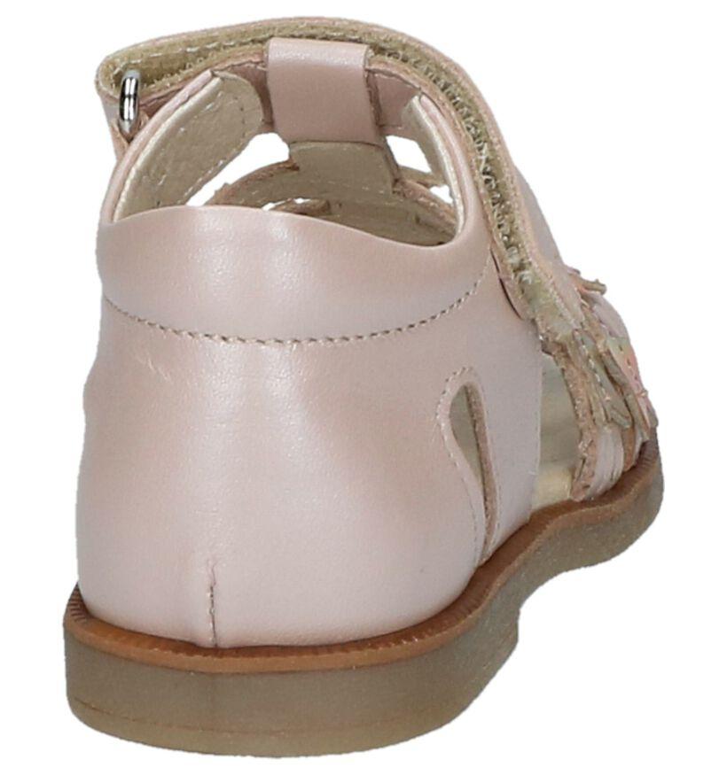 Bumba Sandales pour bébé en Rose clair en cuir (215456)