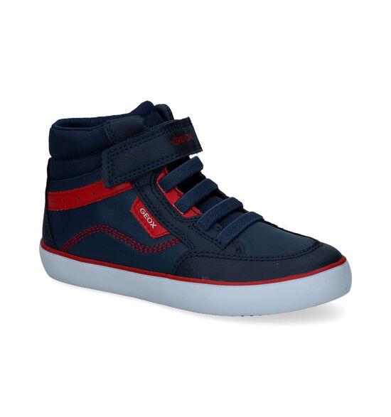 Geox Gisli Blauwe Sneakers