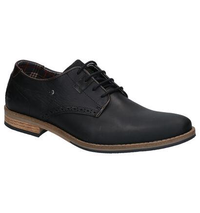 Bullboxer Zwarte Geklede Schoenen in leer (266993)