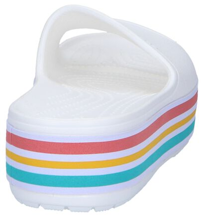 Crocs Platform BLD Color Slide Claquettes de piscine en Noir en synthétique (244745)