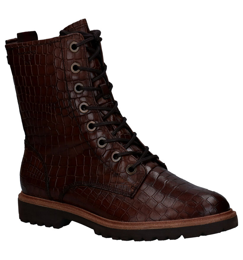 Tamaris TOUCH it Bruine Boots in leer (280671)