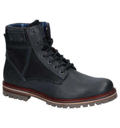 Bullboxer Grijze Boots in leer (256322)