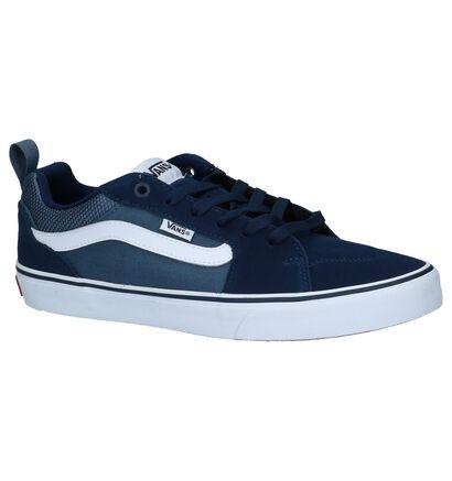Zwarte Skateschoenen Vans Filmore, Blauw, pdp