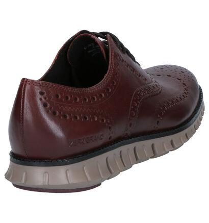 Cole Haan Zerogrand bruine veterschoenen in leer (257906)
