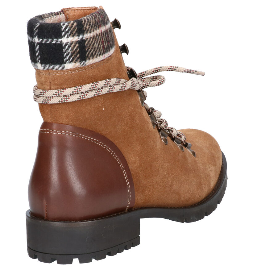 River Woods Sade Bottines Rood in nubuck (260306)