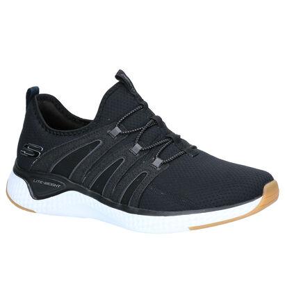 Skechers Zwarte Sneakers in stof (263225)