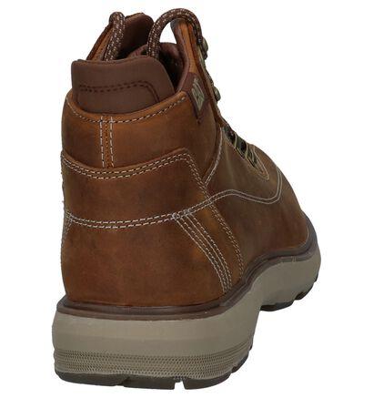 Caterpillar Chaussures hautes en Marron en cuir (225465)