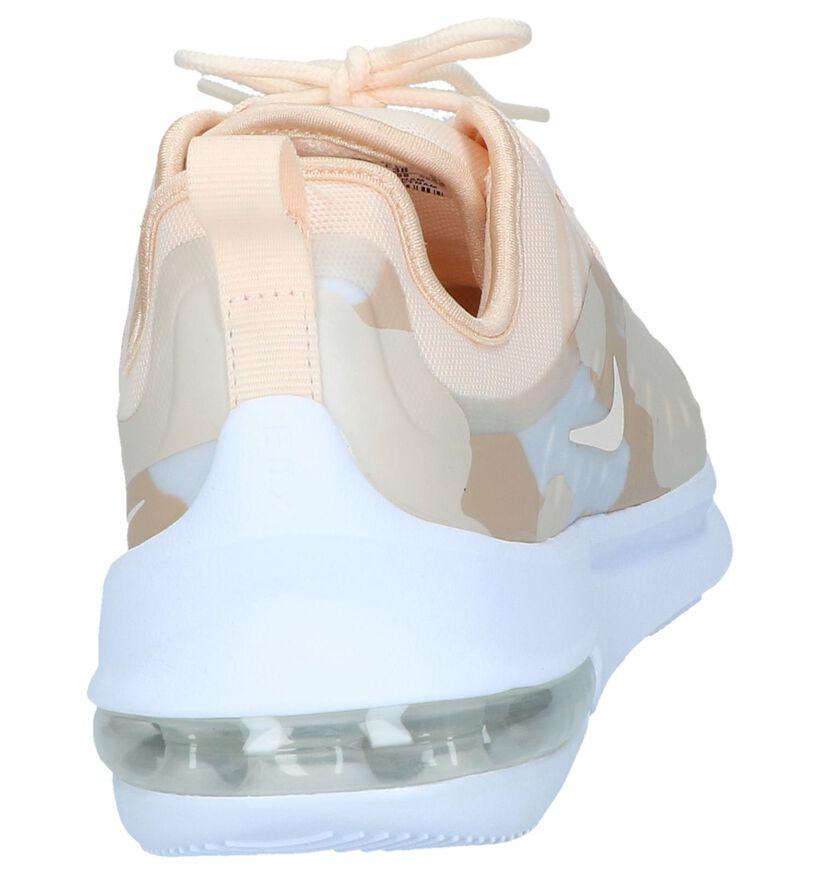 Nike Air Max Baskets basses en Rose clair en textile (238338)