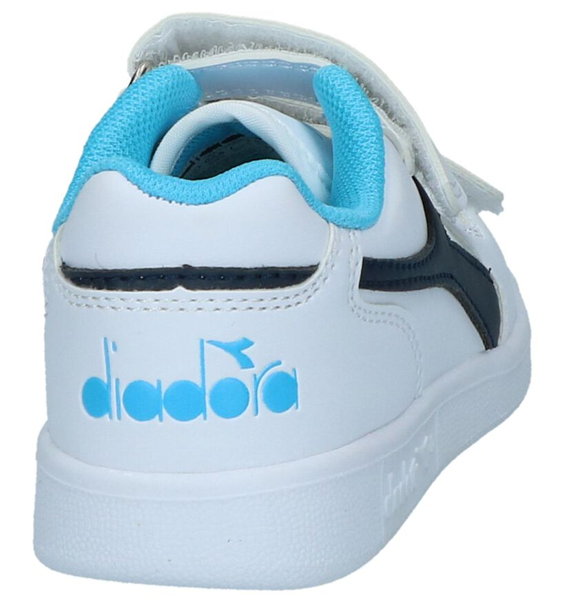 Diadora Baskets basses en Blanc en simili cuir (241040)
