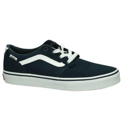 Vans Chapman Skate sneakers en Bleu foncé en daim (200594)