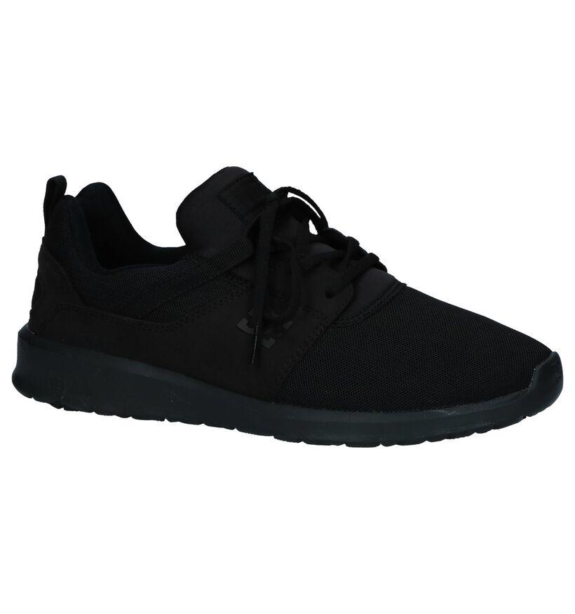 DC Shoes Baskets slip-on en Noir en textile (235121)