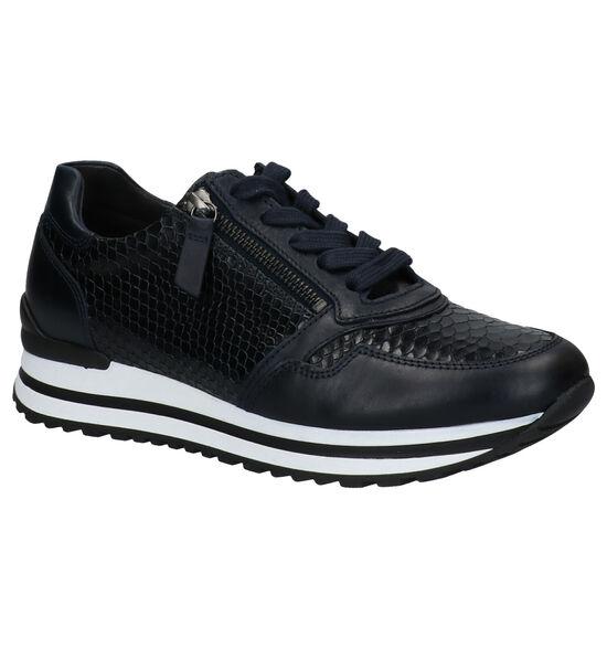 Gabor OptiFit Blauwe Sneakers