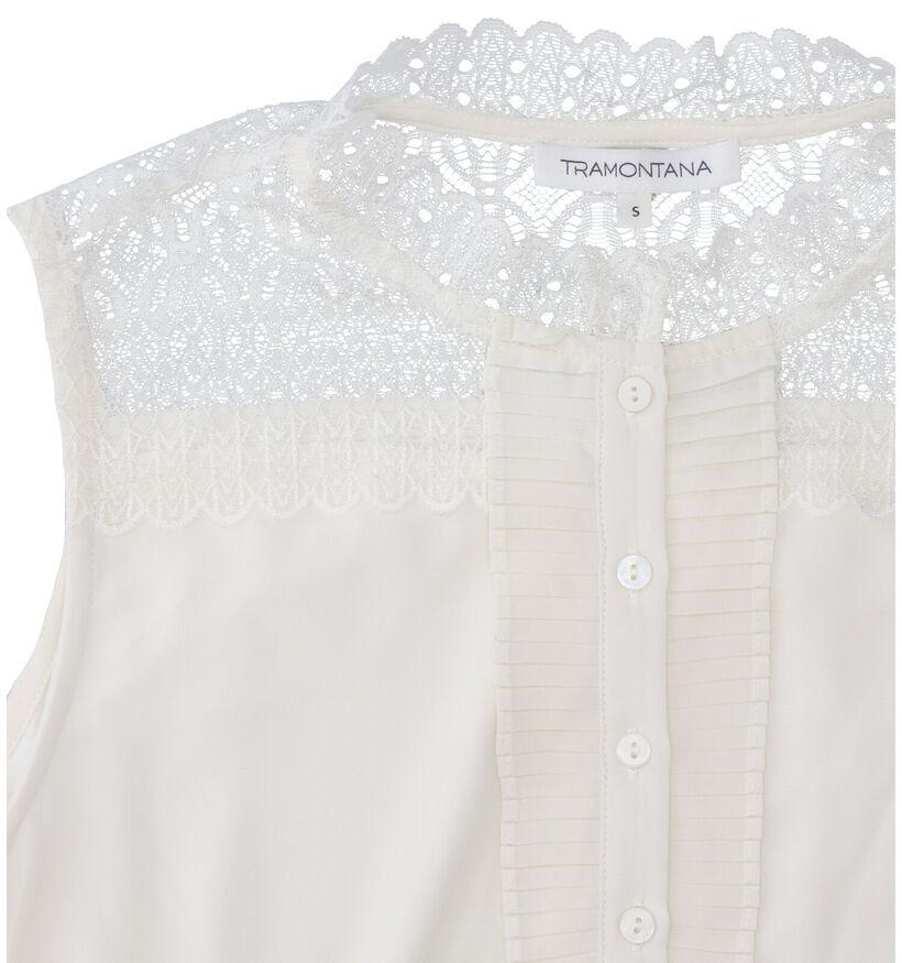 Tramontana Witte Blouse (278551)