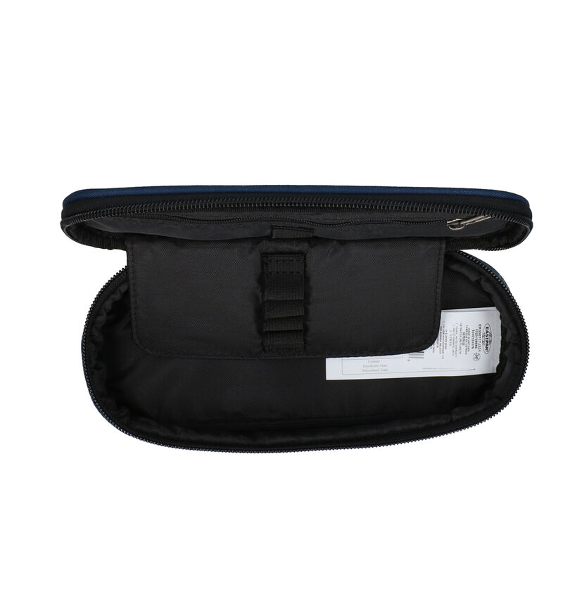 Eastpak Oval Single EK717 Zwarte Pennenzak in stof (293826)