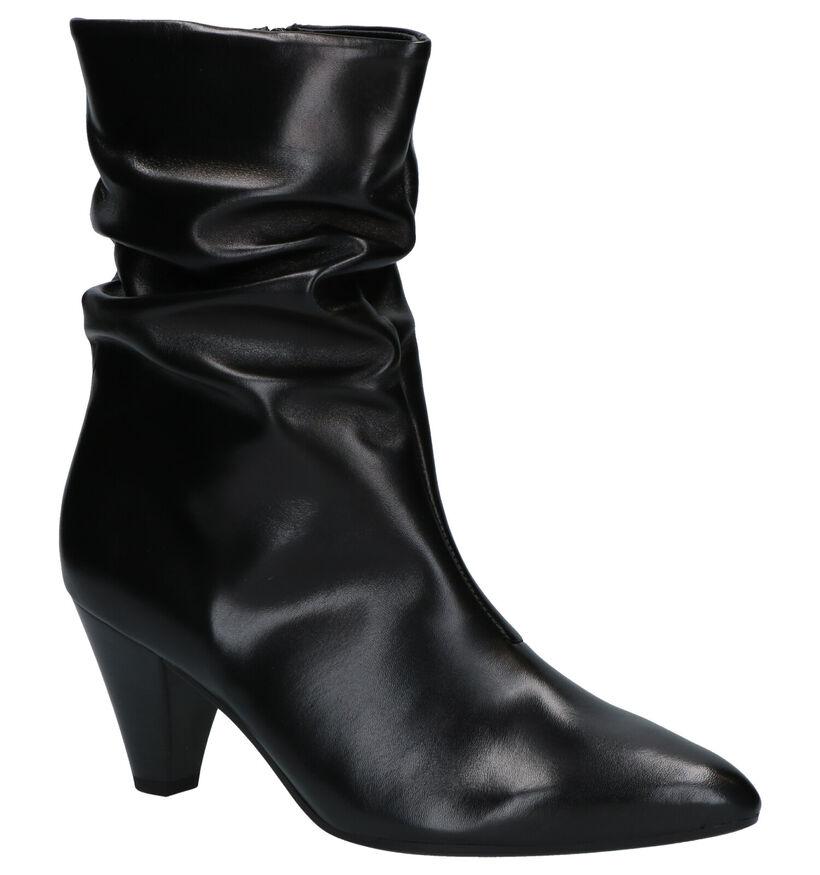 Gabor Zwarte Korte Laarzen in leer (260145)