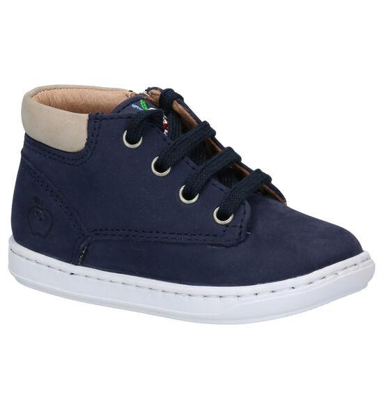 Shoo Pom Bouba Zip Desert Chaussures en Bleu