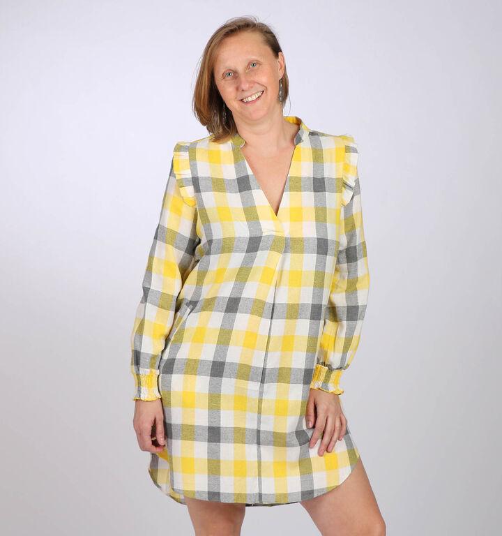 Kilky Robes mini en Jaune clair