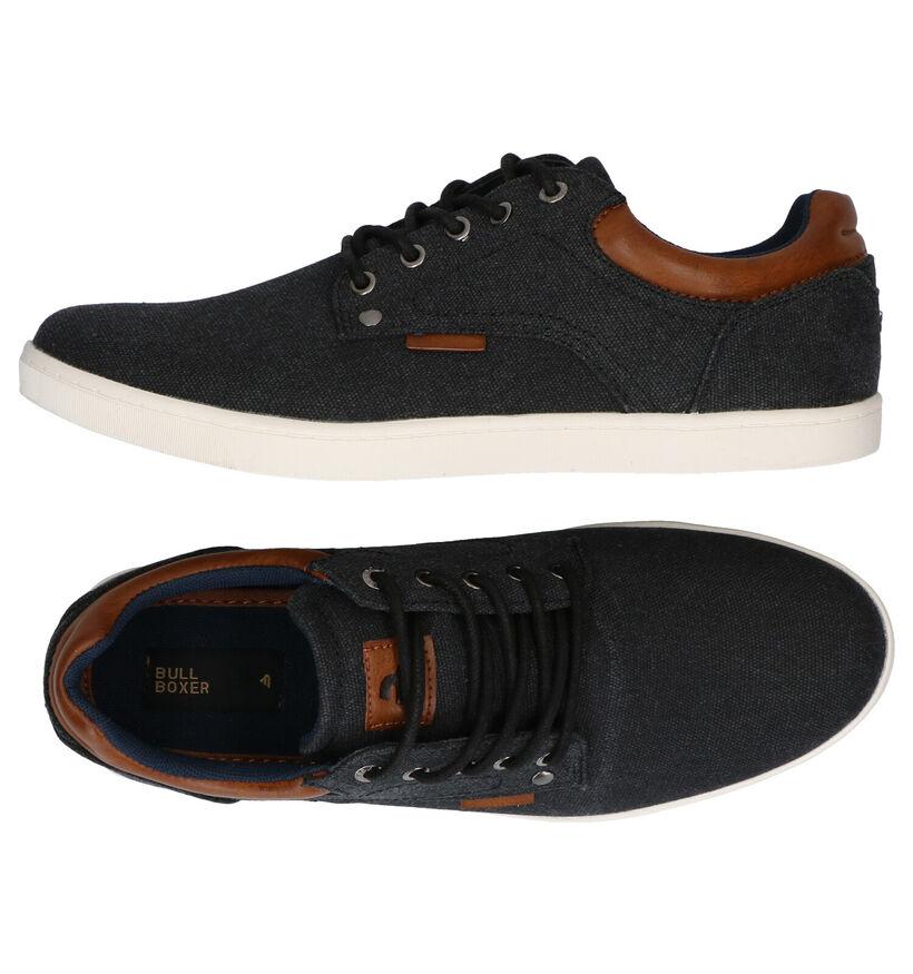 Bullboxer Chaussures basses en Noir en textile (266988)