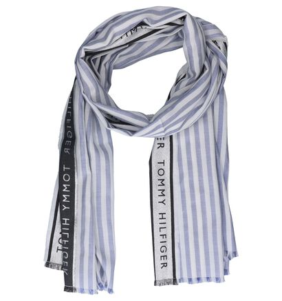 Blauwe Sjaal Tommy Hilfiger Selvedge Scarf (252341)
