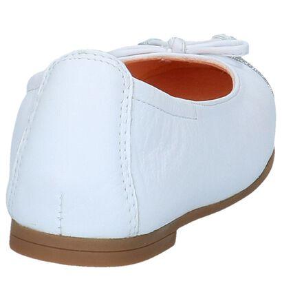Unisa Ballerines en Blanc en cuir (246871)